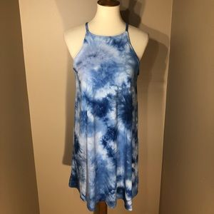 NWOT❣️Wallflower Tie-Dye Halter Dress